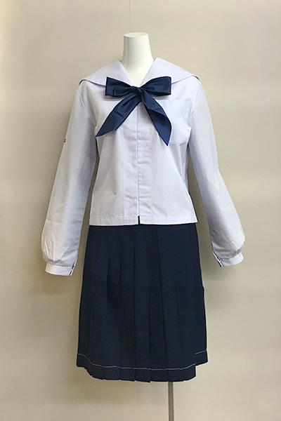 速星中学校女子夏制服